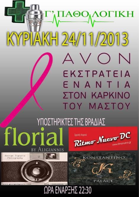 Avon : Εκστρατεία ενάντια στον καρκίνο του μαστού